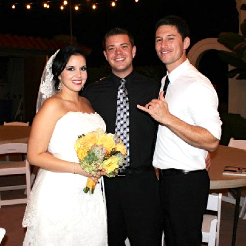 Showcase Wedding DJ Bride and Groom