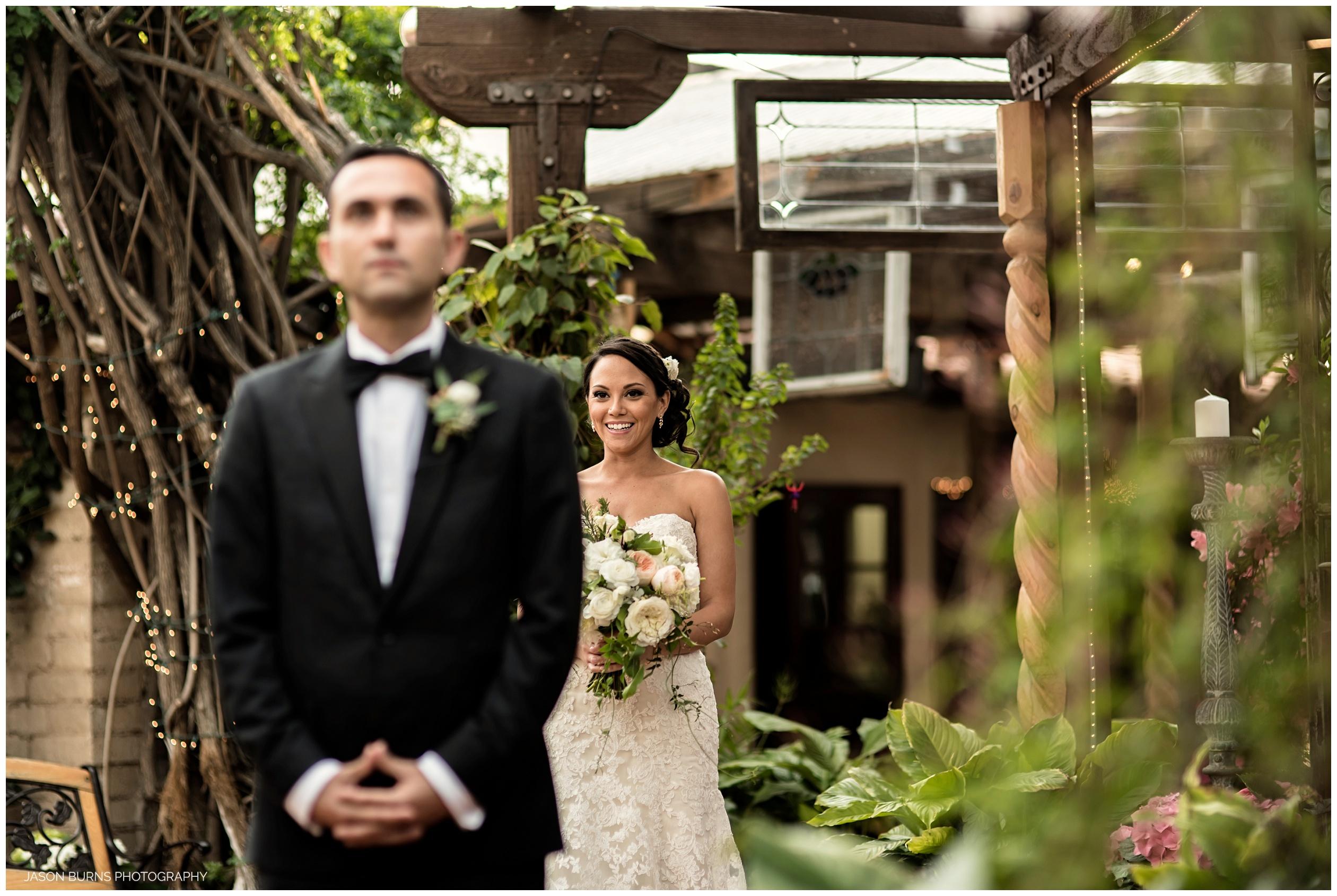Bride and Bridesmaids at The Hacienda, Santa Ana