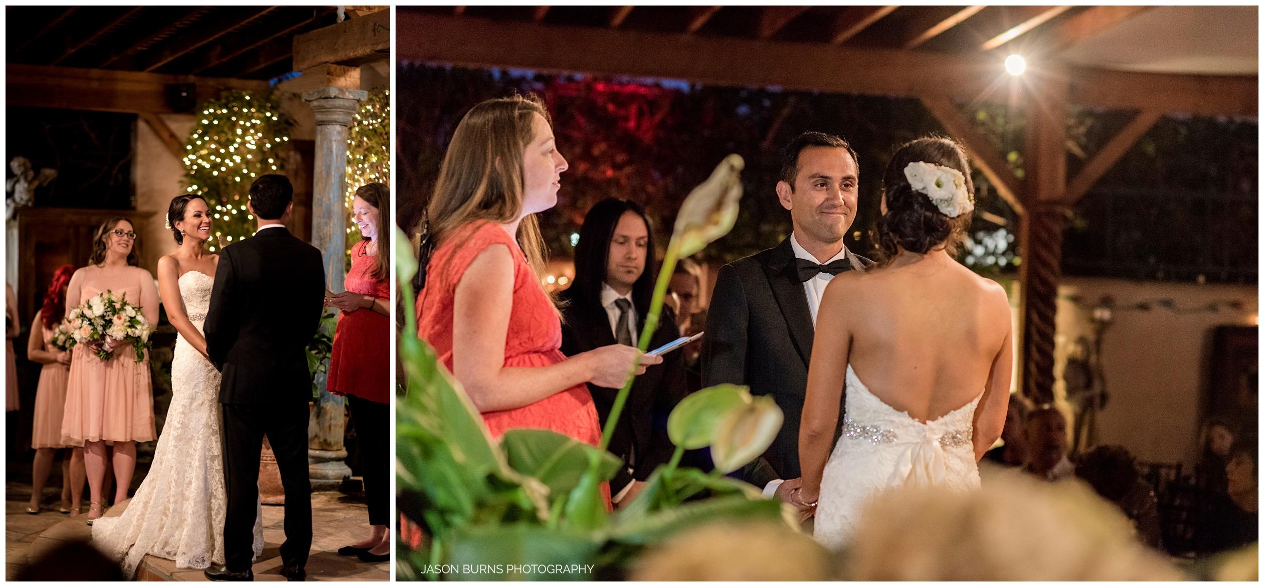 Wedding Ceremony at The Hacienda, Santa Ana