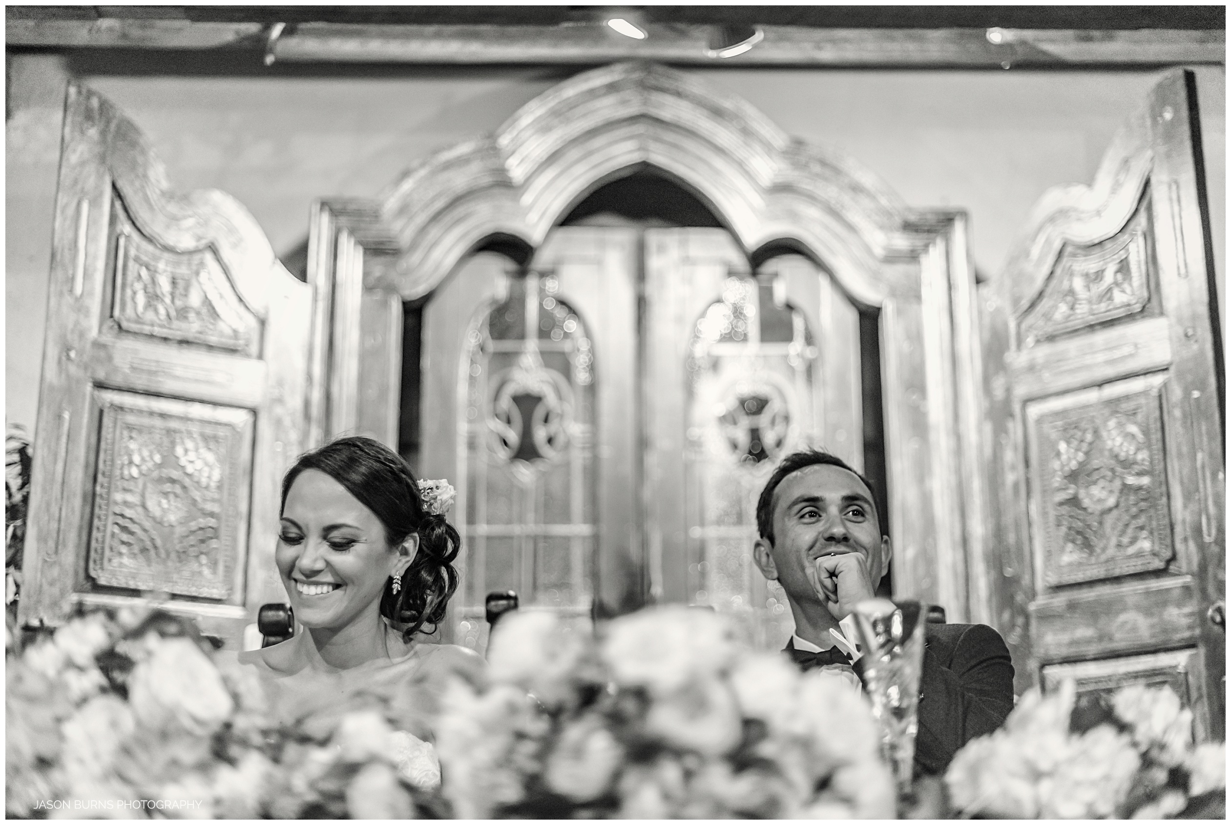 Happy Bride and Groom at The Hacienda Weddings Santa Ana
