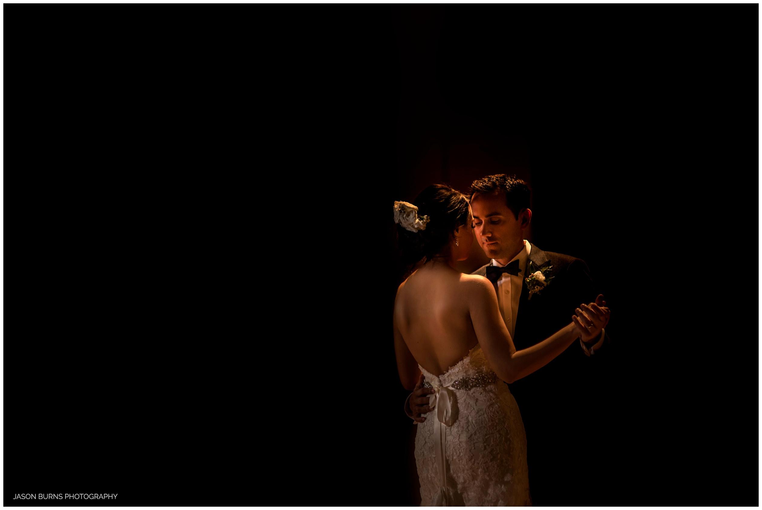 Bride and Groom First Dance at The Hacienda Weddings Santa Ana, CA