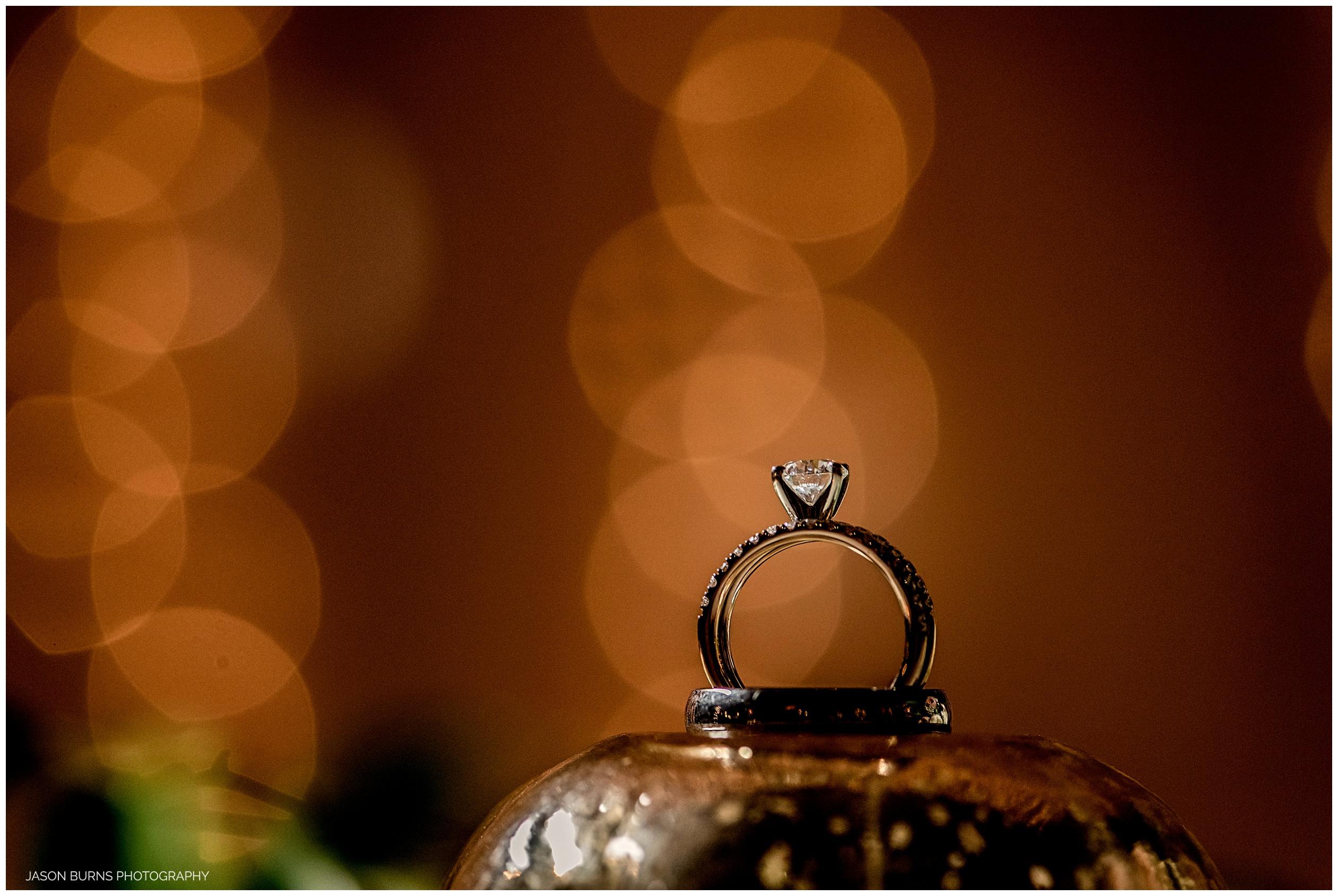 Wedding ring at The Hacienda Santa Ana