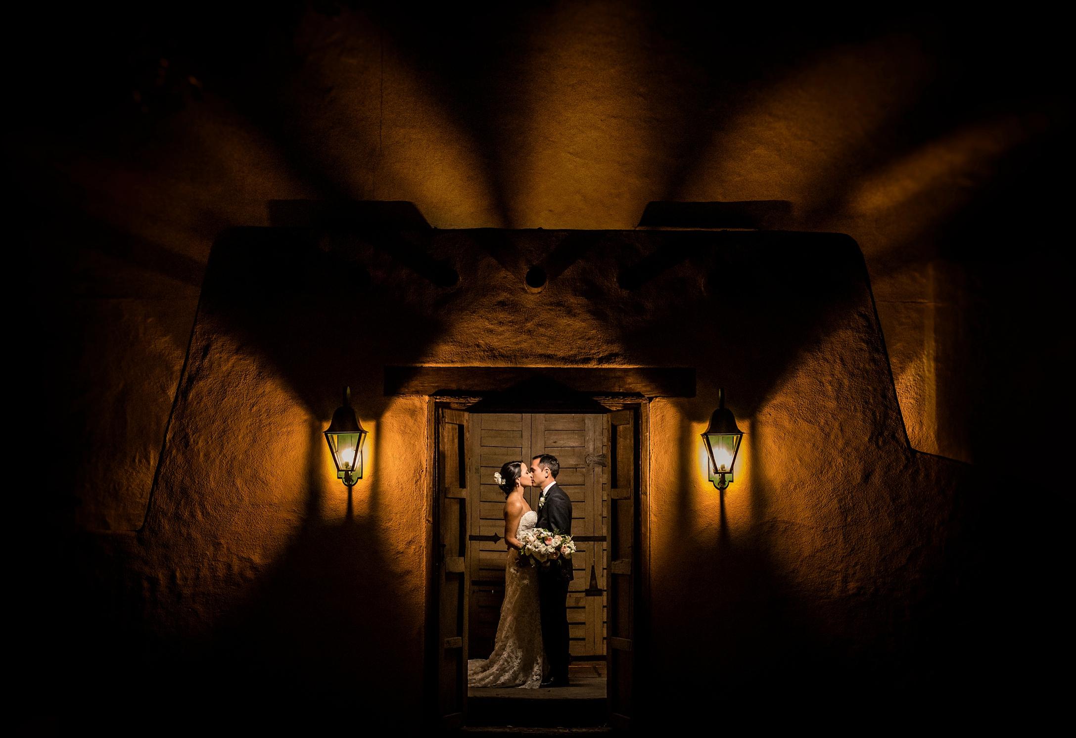 Real Wedding Becca Amp David At The Hacienda Santa Ana